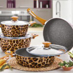Patterned Crushing Granite Dowry Set 7 Pieces