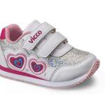 حذاء بناتي رياضي أبيض تصميم حديث – صناعة تركية