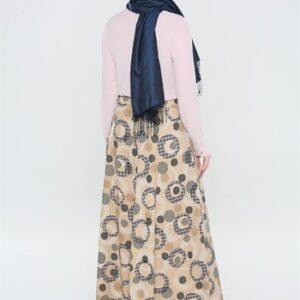 تنورة نسائية منقوشة تصميم رائع و جذاب - صناعة تركية
