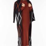 فستان نسائي مع معطف مزخرف تصميم جذاب – صناعة تركية3