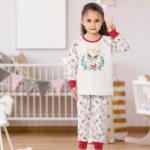 بيجامة بناتي قطعتين جودة عالية بالجملة – صناعة تركية