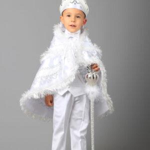 طقم ملابس للأولاد أبيض منقوش .. تصميم عثماني – صناعة تركية