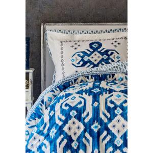 طقم مفارش غطاء السرير مزوج تصميم حديث وراقي – صناعة تركية