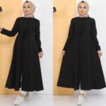 فستان نسائي بألوان مختلفة ورائعة تصميم حديث وأنيق – صناعة تركية – بيع بالجملة
