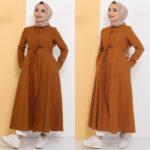 فستان نسائي بألوان مختلفة ورائعة تصميم حديث وأنيق 3 صناعة تركية – بيع بالجملة