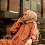 فستان نسائي جلد بتصميم أنيق ورائع — صناعة تركية – بيع بالجملة