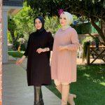 تونيك نسائي بألوان مختلفة تصميم أنيق ورائع – صناعة تركية – بيع بالجملة