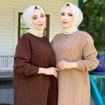 تونيك نسائي بألوان مختلفة تصميم أنيق ورائع 1 صناعة تركية – بيع بالجملة